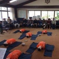 赤十字の救急法受講