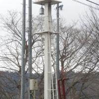 飯山市照岡の火の見柱