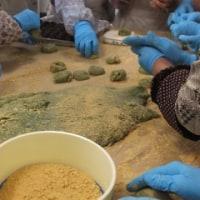 草餅を作って総会・・・・・・皆野町赤十字 奉仕団