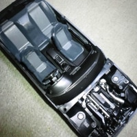 アオシマ模型 頭文字Dシリーズ 死神GT-R製作
