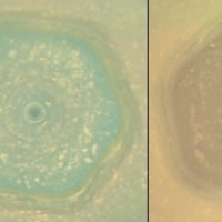 夏至を迎えた土星の北半球