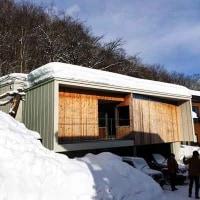 【北側雪反射光活用のデザイン断熱住宅】