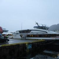 船でソグネフィヨルドへ向かいます。