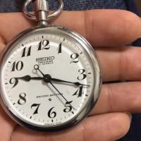 SEIKO 鉄道時計 21石 手巻き