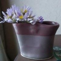 ミニ花瓶(還元焼成)