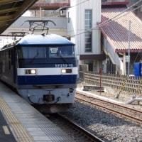 EF210-104号機@吹上駅