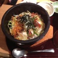 串やき・魚 新宿宮川 野村ビル店  鰻とアナゴの石焼ひつまぶし