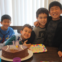櫂、10歳のお誕生日おめでとう!