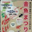 江戸川区 金魚まつり