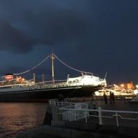 横浜、大桟橋・・・