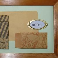 アンティーク調折り紙(生け文具1135)