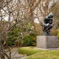 はやくも上野公園で桜がチラホラと 其の2