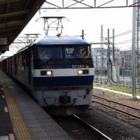 EF210-5号機@吹上駅
