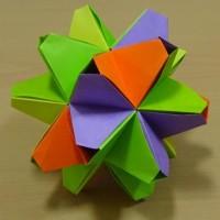 ◎折り紙による多面体