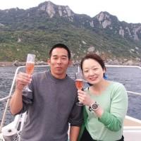 初の玄界灘沖ノ島&糸島ツアー☆Happy Wedding♡ (広島 ダイビング)