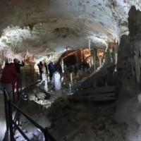 クロアチア・スロベニア旅行(7日目ポストイナ鍾乳洞)