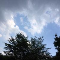 雨期の冷気
