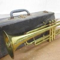 「Nikkan トランペット ニッカン No.2 614001 古いトランペット 楽器 ハードケース」を買取させていただきました!