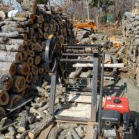 薪作りの進捗