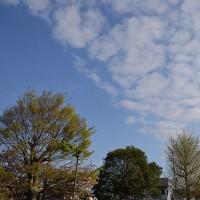 4月25日、午前6時~7時過ぎの空模様