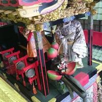 大津祭り曳き山「西王母山」のからくり/大津祭曳山展示館にて