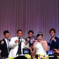 薬師寺保栄氏の結婚式に出席してきました!