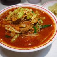 蒙古タンメン中本@目黒 「冷し味噌野菜+野菜大盛」