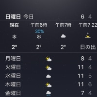 寒い日曜日