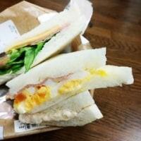 春はサンドイッチ