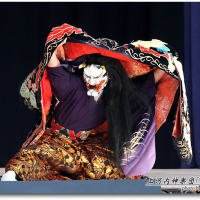上河内神楽団「葛城山」④