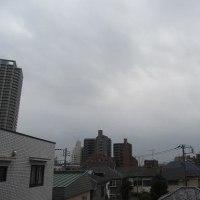 今朝(1月20日)の東京のお天気:曇り、(1月の作品:祈願の坐像)