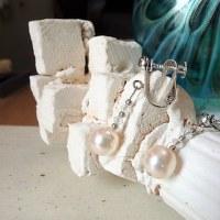 真珠のイヤリング・ピアス