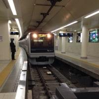 新宿駅乗り換え  丸の内線から小田急線