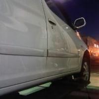 走行時にハンドルがブルブルする車両の整備