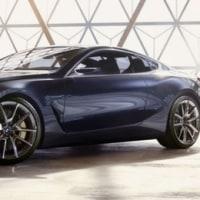 【BMW】新型「8シリーズ」が復活!conceptモデルを2017年5月26日発表!