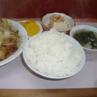 珍さん・野菜イタメ定食