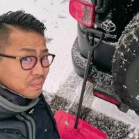 福知山市は大雪なので