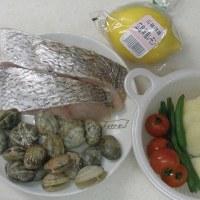 レンジで簡単♪真鯛とあさりのアクアパッツァ風 和風蒸し! GWのディナーに…