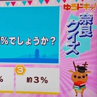 奈良県の面積は、日本の何%?・・(^◇^)