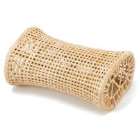 ごろ寝の達人 イグサ枕 涼感 籐枕 幅約30cm×奥行約18cm×高さ約12cm