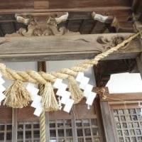水戸の神社しめ縄