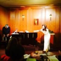 シャンソン歌手リリ・レイ LILI LEY  二月の友引 日曜日 芝パークホテル