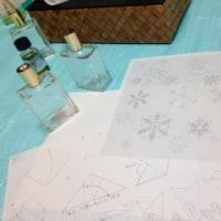 ボトルアート in Winter ワークショップ平日の部終了しました。