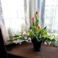 春のお花で♪