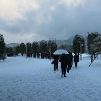 東海の雪―― センター二日目