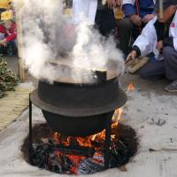 白幡天神社の「湯の花祭り」(つづき)