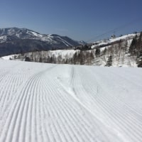 春スキー・・・むずいっす(泣)