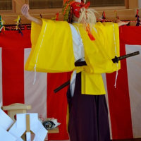 境宮神社の十二面神楽