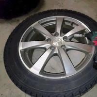 タイヤ交換2台目