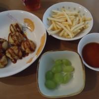 マーボー豆腐の晩御飯